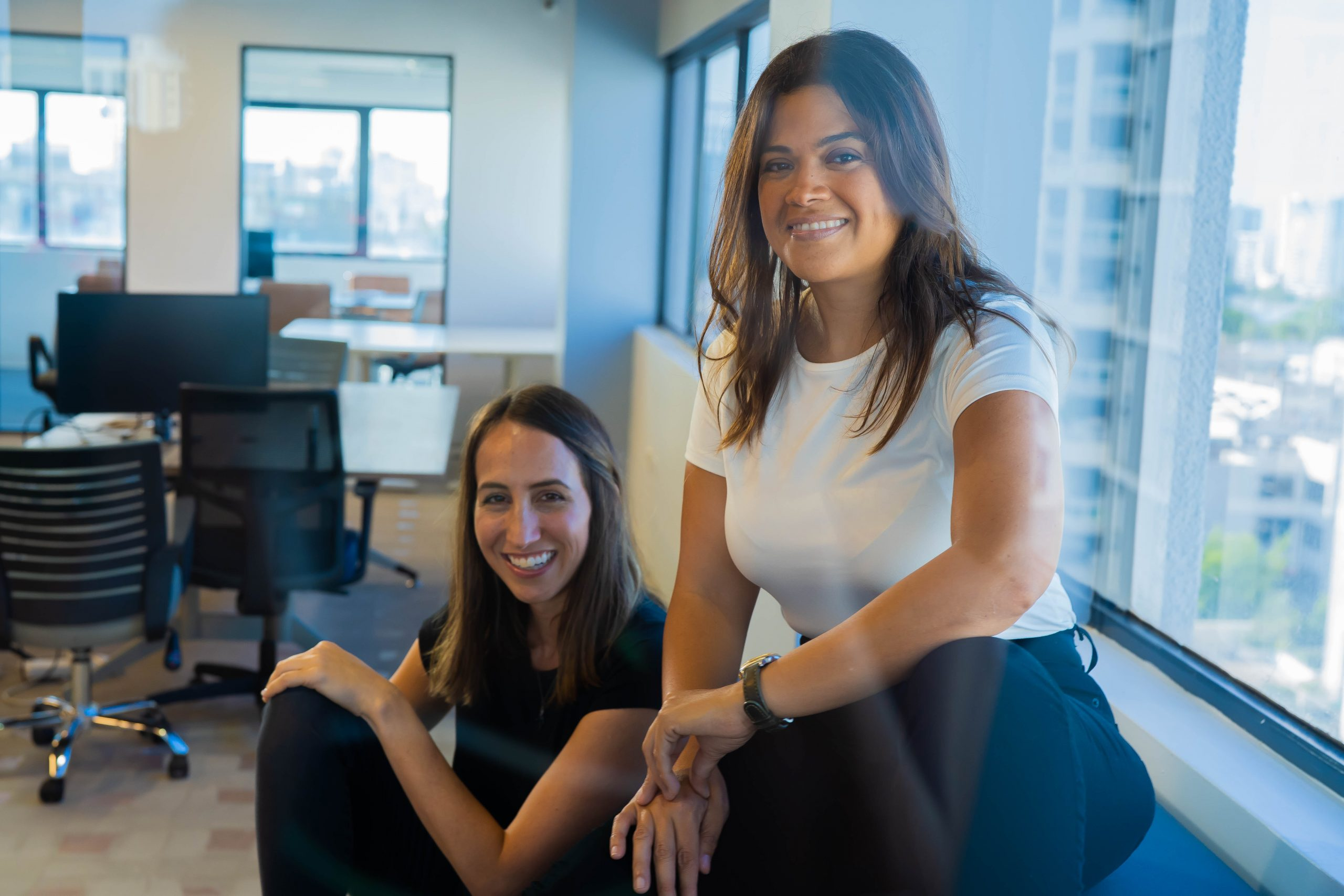 the two women founders of abartys health Dolma and Lauren